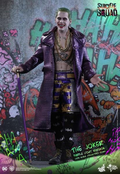 Hot Toys - Joker- Suicide Squad- Purple Coat Edition- 1/6