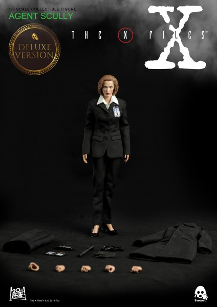 ThreeZero - Agent Dana Scully - DX Version - Akte X