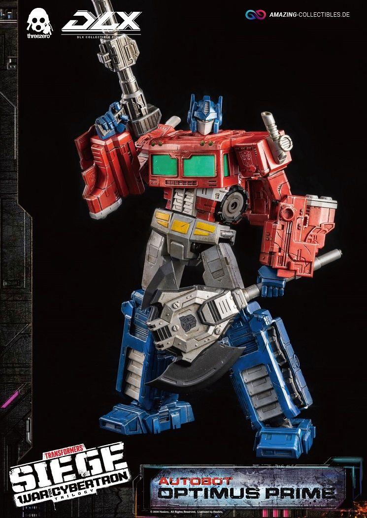 ThreeZero - Optimus Prime - Transformers: War for Cybertron Trilogy