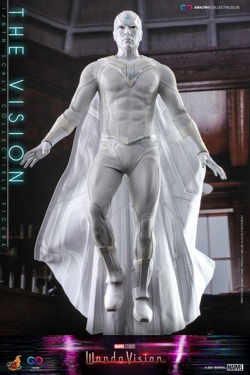 Hot Toys - The Vision - White Version - TMS054 - WandaVision