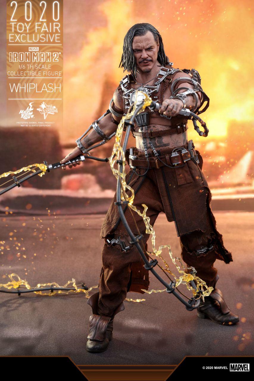 Hot Toys - Whiplash - Toyfair Exclusiv 2020 - Iron Man 2