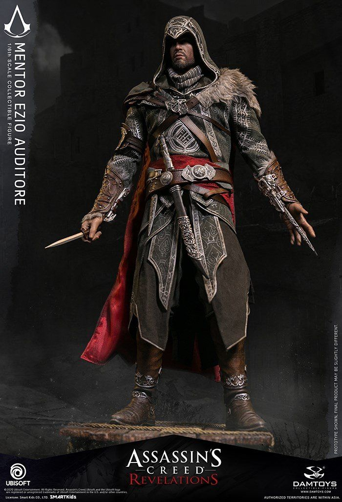 Mentor Ezio Auditore - Assasins Creed Revelations