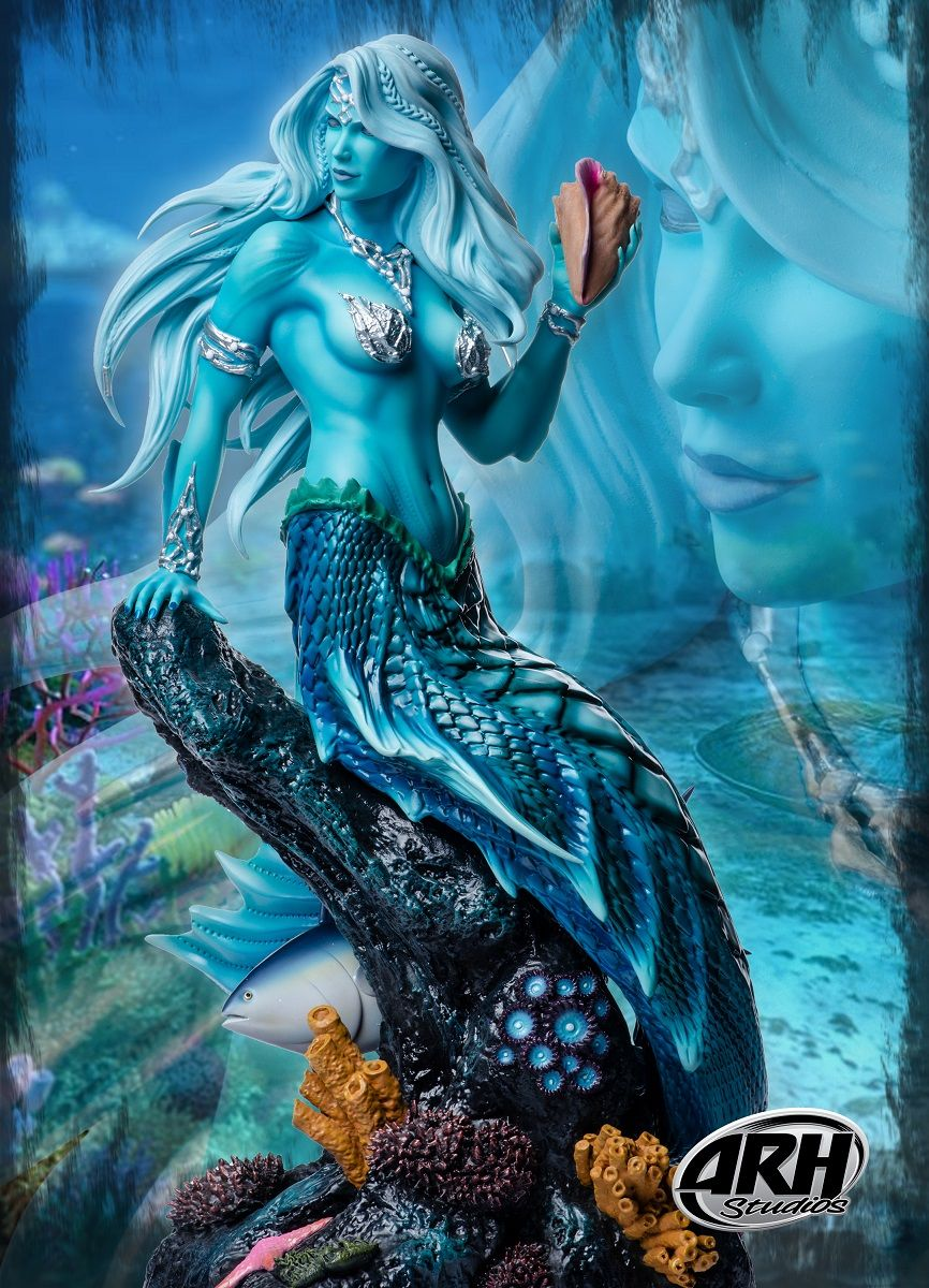 ARH Studios - Sharleze The Mermaid - Blue Skin Version 1/4