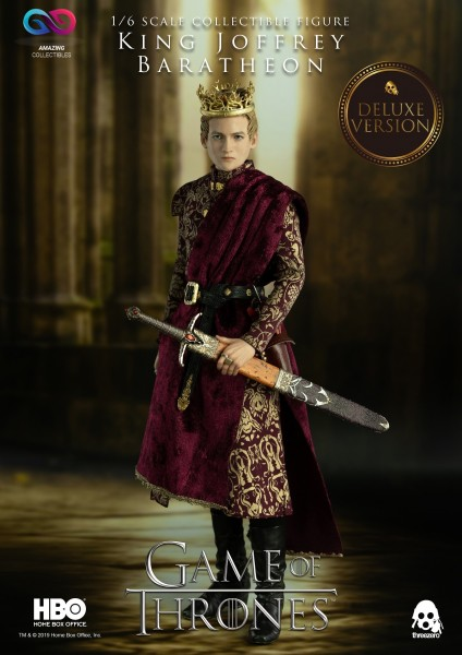 ThreeZero - King Joffrey Baratheon - DX Version - Game of Thrones