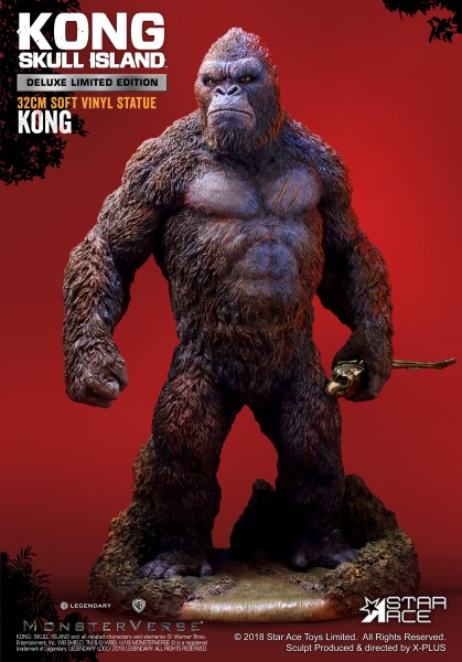 Star Ace - Kong - Kong: Skull Island - Soft Vinyl Statue - DX Version