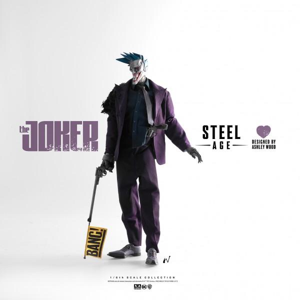 ThreeA - The Joker - Steel Age by Ashley Wood