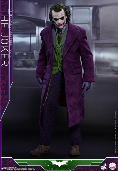 Hot Toys - Joker - Quarter Scale 1/4 - The dark knight