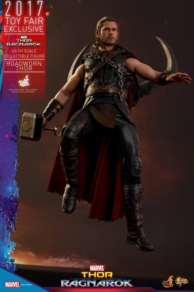 Hot Toys - Roadworn Thor - Thor Ragnarok - Toyfair Exclusiv