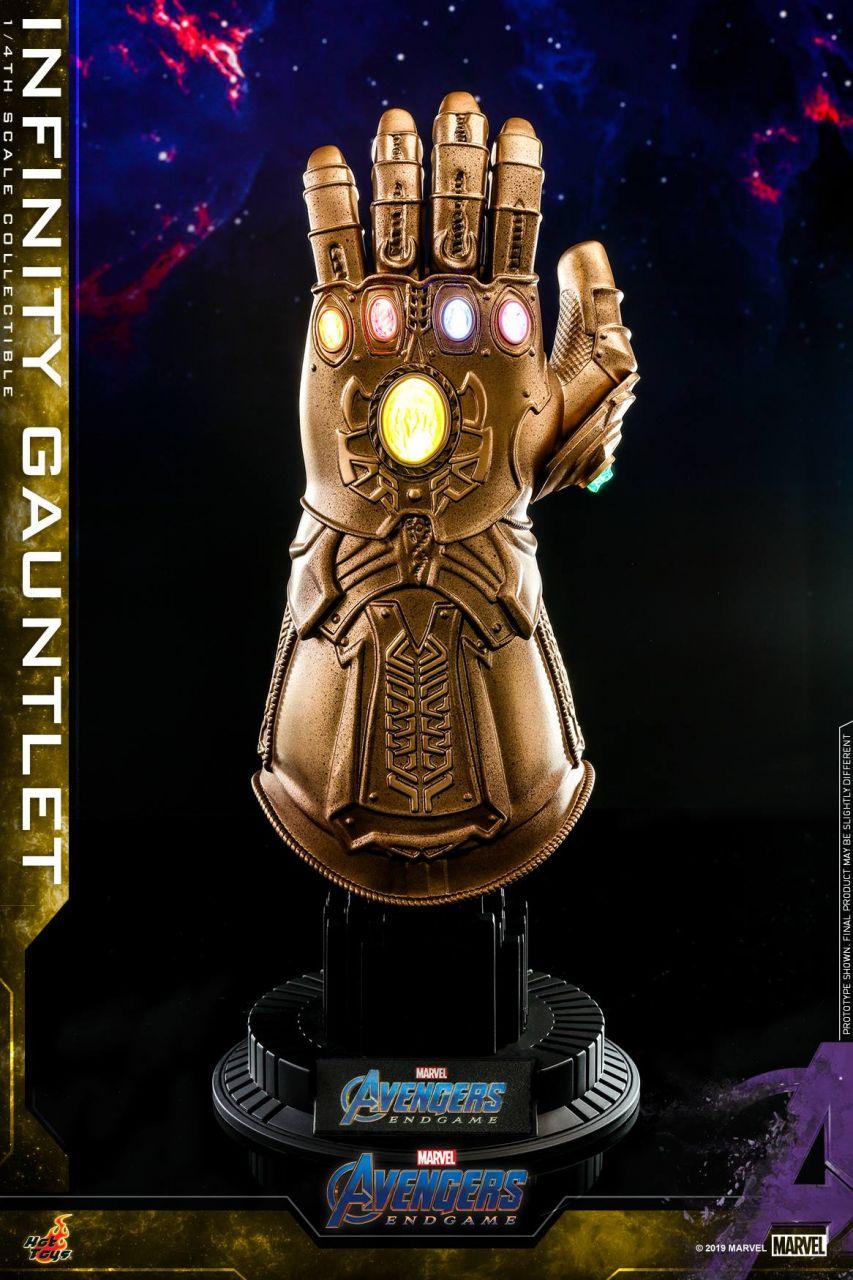 Hot Toys - Infinity Gauntlet - Thanos Handschuh - 1/4 Quarter Scale - Avengers: Endgame