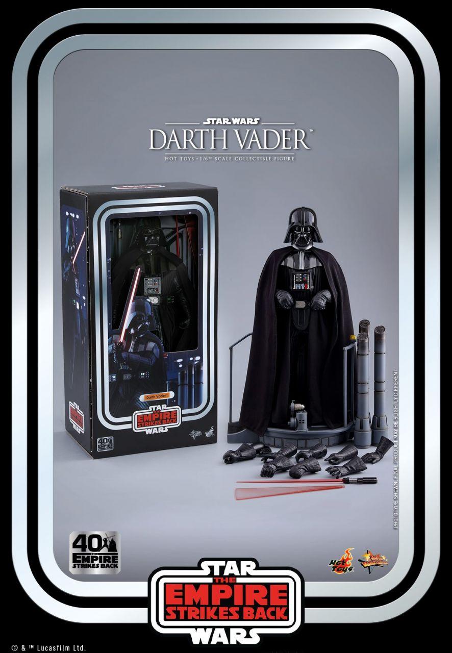 Hot Toys - Darth Vader - 40th Anniversary Version - Star Wars - Das Imperium schlägt zurück