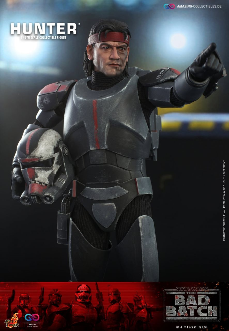 Hot Toys - Hunter - TMS050 - Star Wars: The Bad Batch