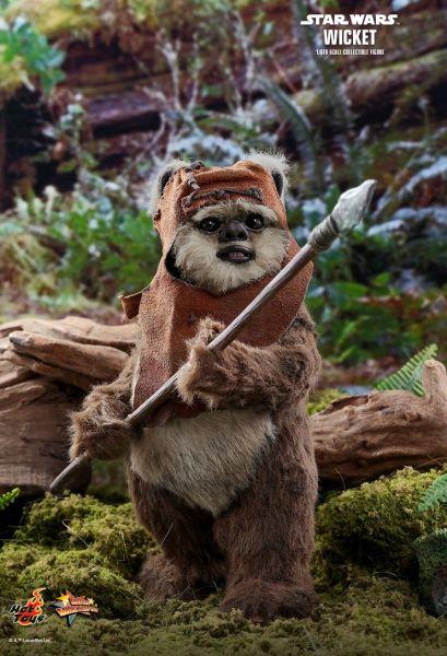Hot Toys - Wicket - Star Wars - Die Rückkehr der Jedi Ritter