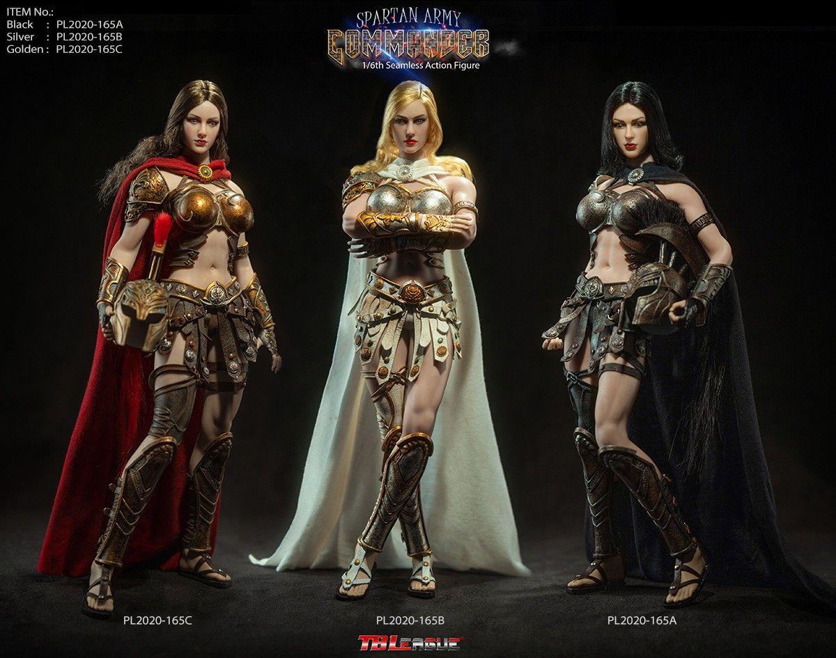 TBLeague (Phicen) - Spartan Army Commander - Set of 3