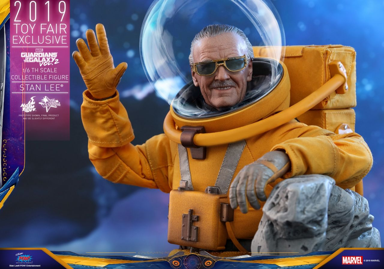 Hot Toys - Stan Lee - Toyfair Exclusive 2019 - Guardians of the Galaxy 2