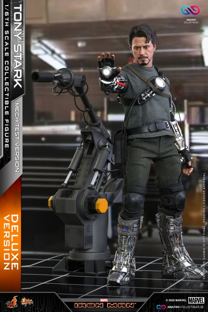 Hot Toys - Tony Stark - Armor Testing Version - Collectors Edition - Deluxe Version - Iron Man