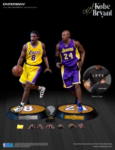 Enterbay - Kobe Bryant - Upgraded Re-Edition - Real Masterpiece Serie