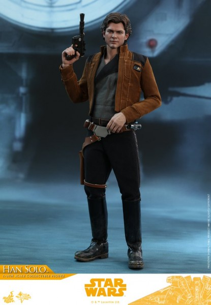 Hot Toys - Han Solo Reg Version - Solo: A Star Wars Story