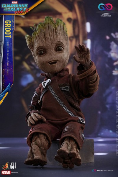 Hot Toys - Groot - Life Size - Guardians of the galaxy 2