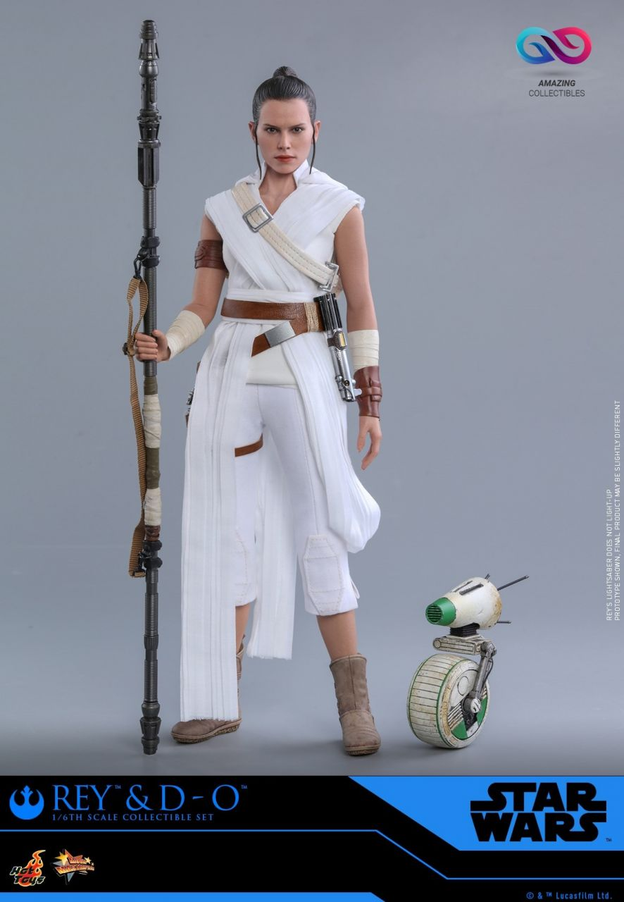 Hot Toys - Rey & D-O Set - MMS559 - Star Wars - Episode IX - Rise of Skywalker
