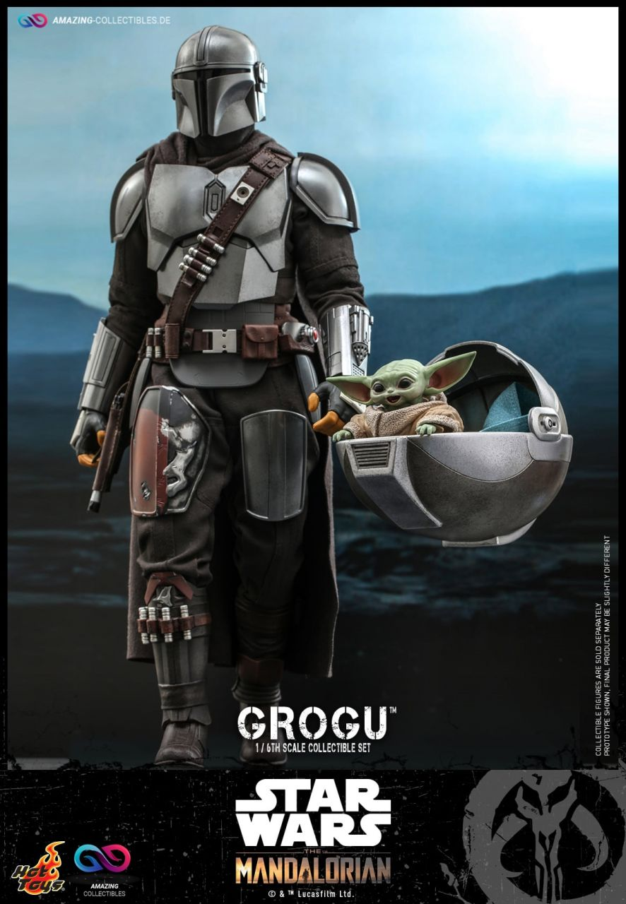 Hot Toys - Grogu - Collectibles Set - TMS043 - Star Wars: The Mandalorian