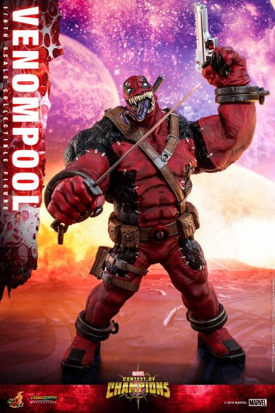 Hot Toys - Venompool - Marvel: Sturm der Superhelden