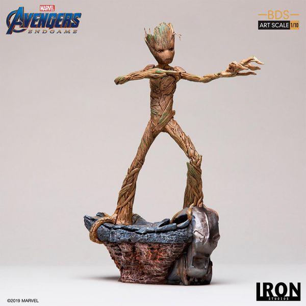 Iron Studios - Groot - BDS Art Scale - Avengers:Endgame