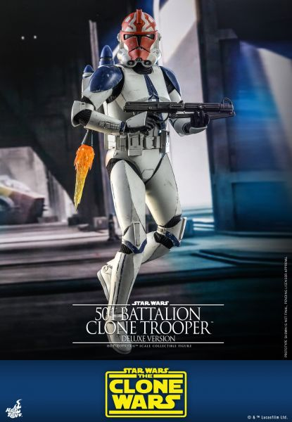 Hot Toys - 501st Battalion Clone Trooper (Deluxe) - Star Wars: The Clone Wars