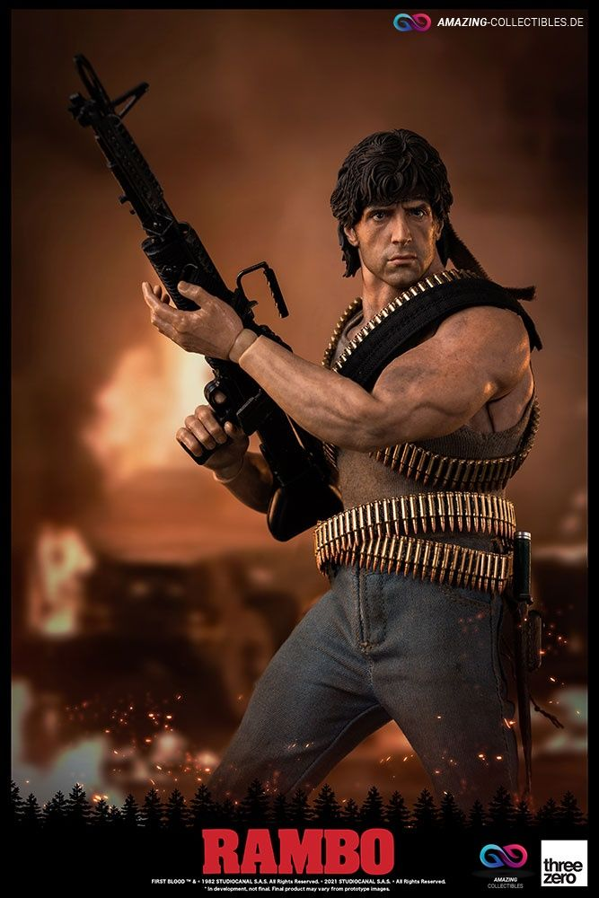 ThreeZero - John Rambo - Rambo: First Blood