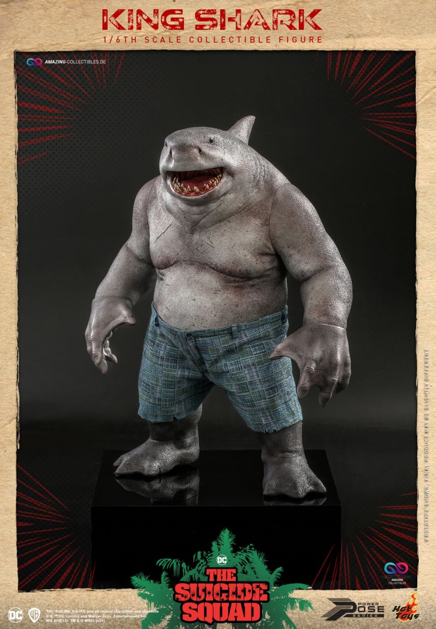 Hot Toys - King Shark - PPS006 - The suicide squad