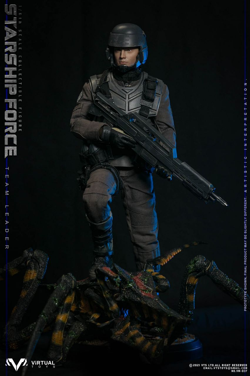 Virtual Toys - Starship Force Team Leader - Deluxe Version