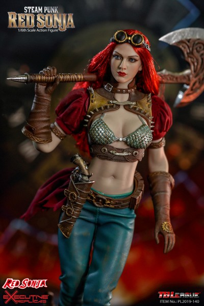 TBLeague - Red Sonja - Steam Punk Version - ClassicVersion
