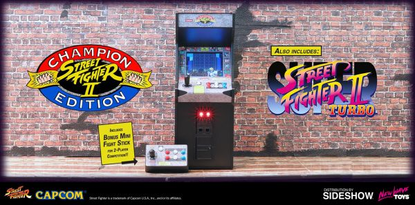 New Wave Toys - Street Fighter II - Champion Edition - 1/6 Arcade Machine