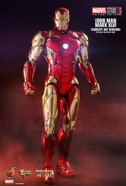 Hot Toys - Iron Man - Concept Art Version - Marvel First Ten Years
