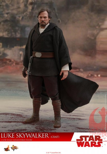 Hot Toys - Luke Skywalker Crait Version - Star Wars The last Jedi