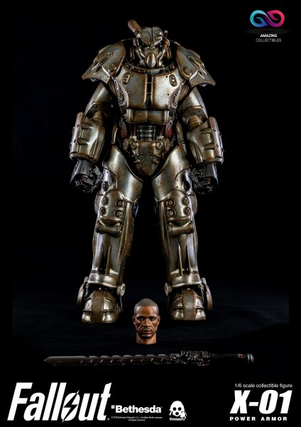 ThreeZero - X01 Power Armor - Fallout