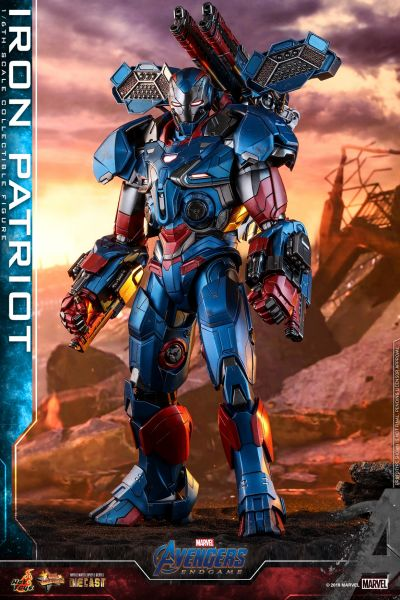 Hot Toys - Iron Patriot - Avengers: Endgame