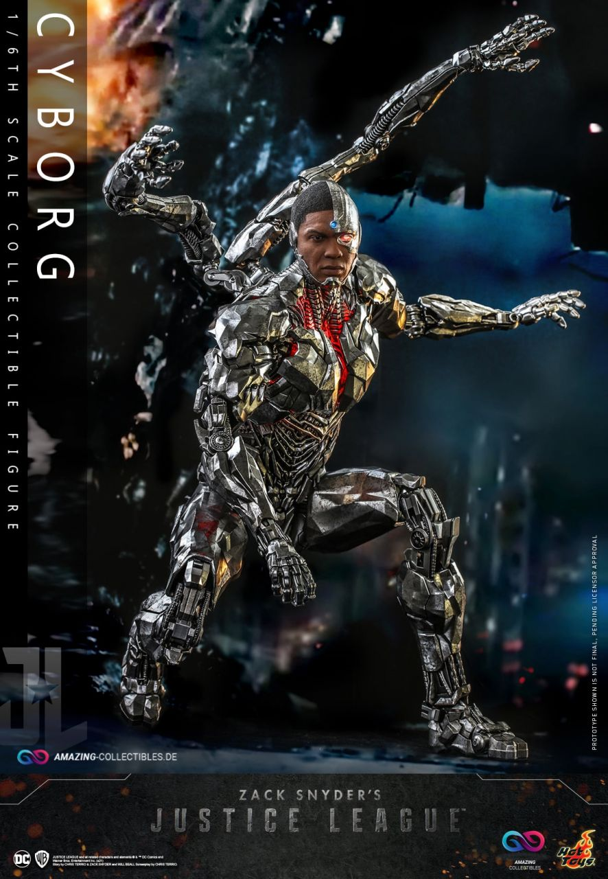 Hot Toys - Cyborg - TMS057 - Zack Snyder`s Justice League