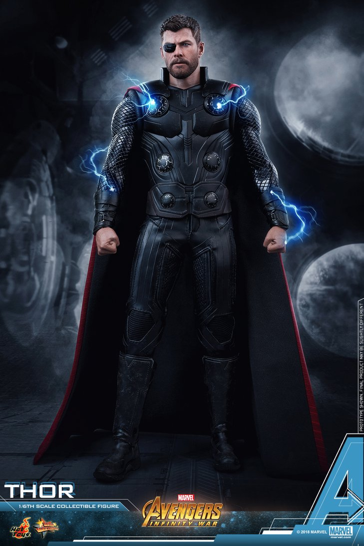 hot toys - thor - avengers: infinity war | vorbestellung | hot toys