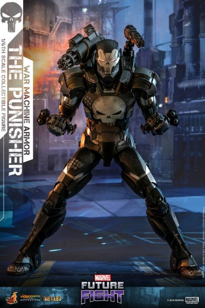 Hot Toys - The Punisher - War Machine Armor - Marvel Future Fight - Diecast