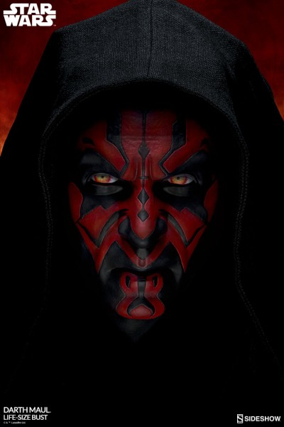 Sideshow Collectibles - Darth Maul Life Size Bust - Star Wars