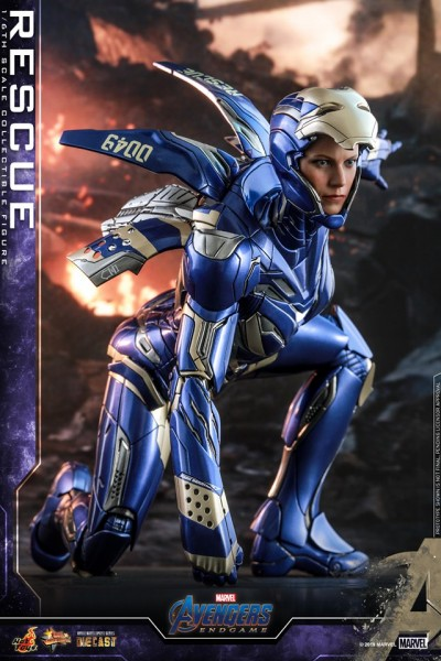Hot Toys - Pepper Potts Rescue Suit - Diecast - Avengers: Endgame
