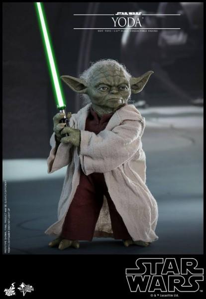 Hot Toys - Yoda - Star Wars - Angriff der Klonkrieger