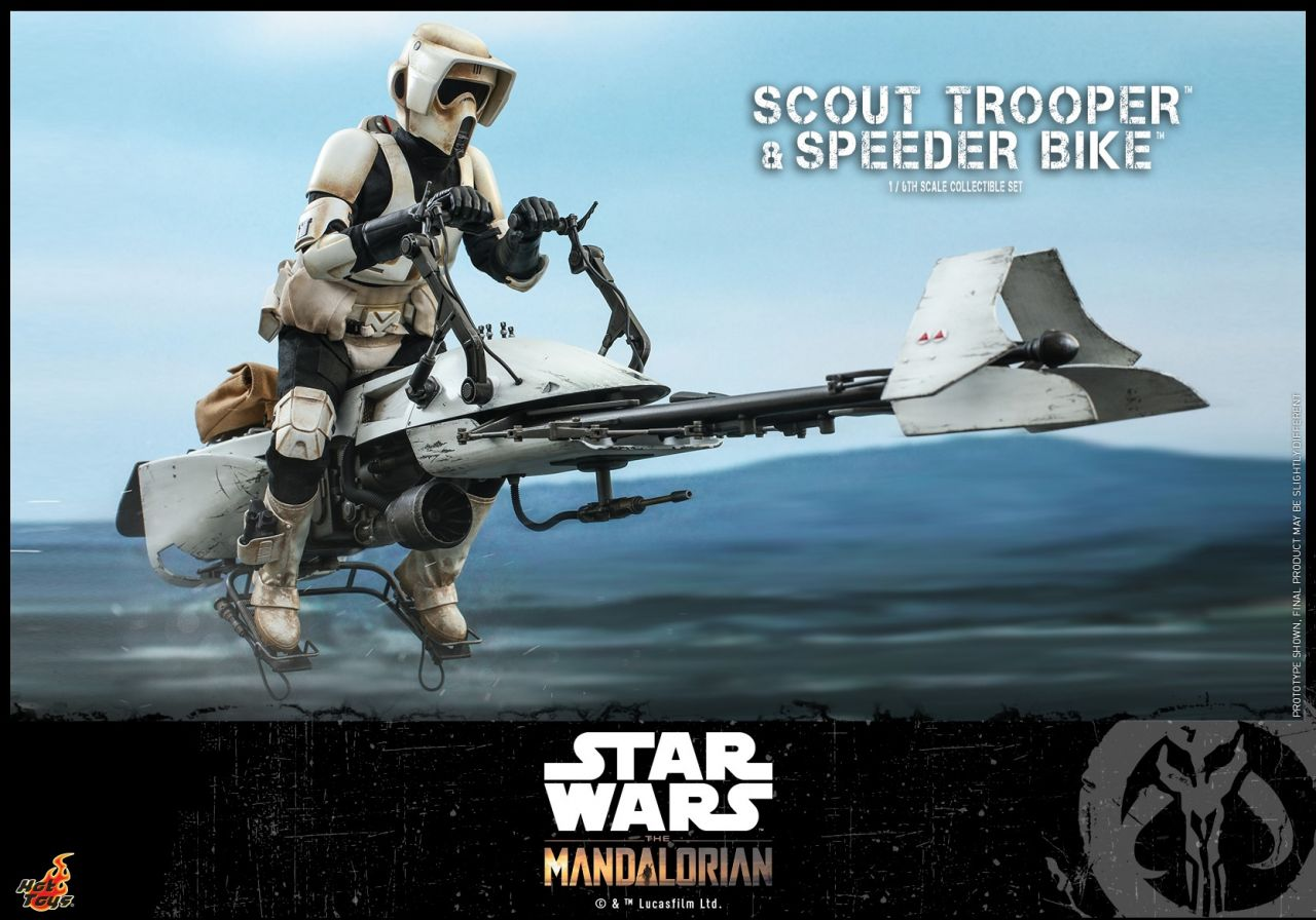 Hot Toys - Scout Trooper & Speeder Bike - Star Wars: The Mandalorian