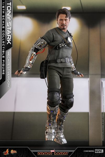 Hot Toys - Tony Stark - Armor Testing Version - Collectors Edition - Normale Version - Iron Man