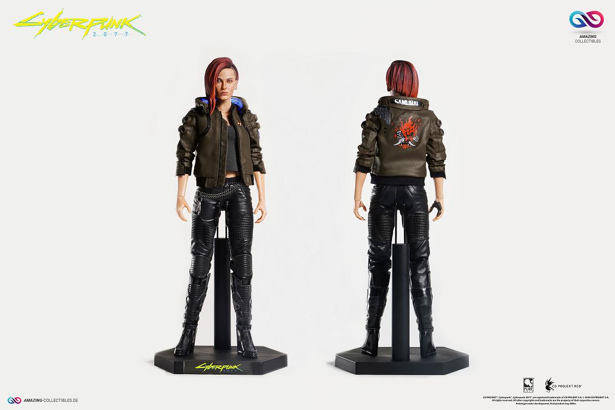 PureArts - V Female (VGirl) + Sportbike - Yaiba Kusanagi Bundle- Cyberpunk 2077 - CD Projekt Red-