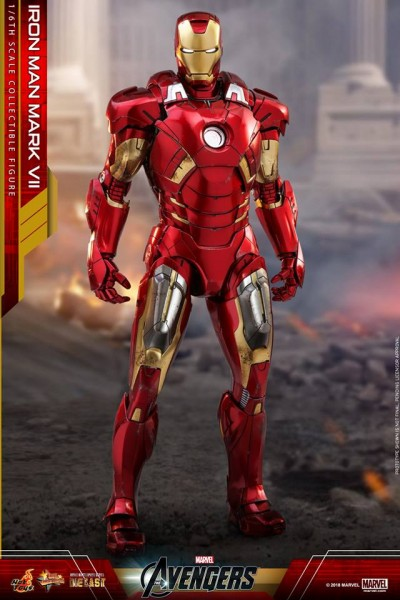 Hot Toys - Iron Man Mark VII Diecast - The Avengers