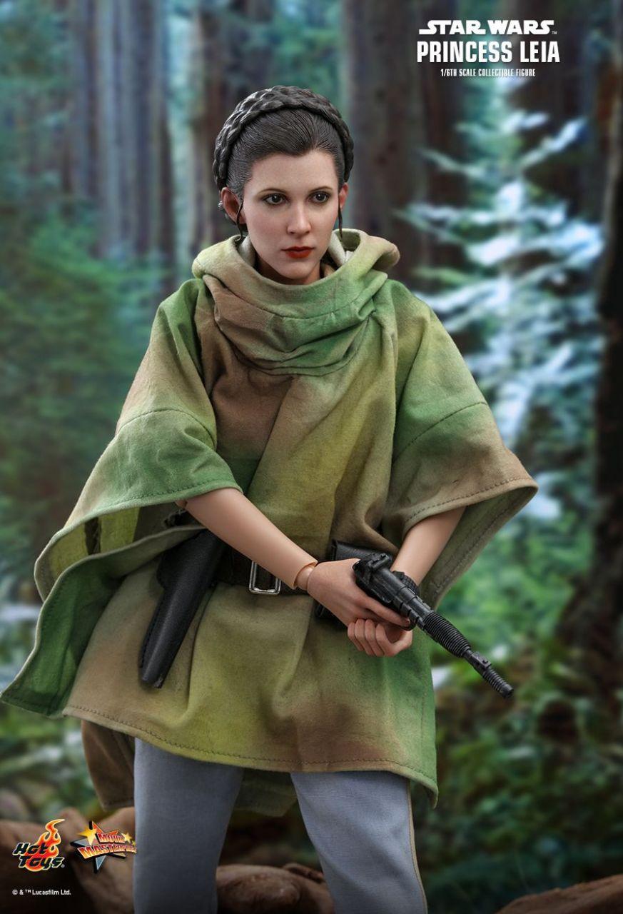 Hot Toys - Prinzessin Leia Organa - Endor Version - Star Wars - Die Rückkehr der Jedi Ritter