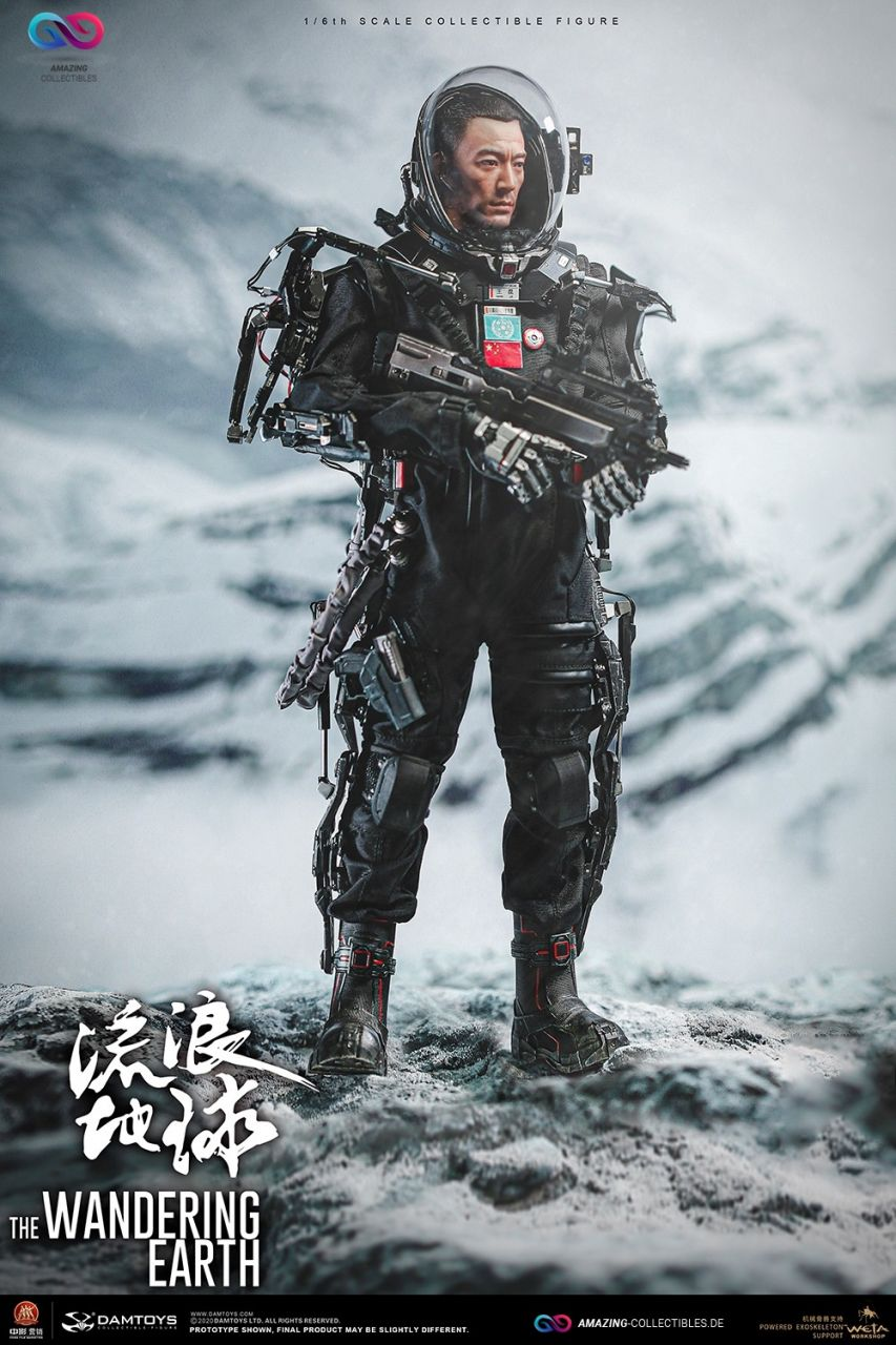 Damtoys - Captain Wang Lei - Rescue Unit - The wandering earth