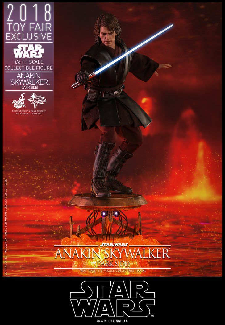 Hot Toys - Anakin Skywalker Dark Side - Star Wars - Toy Fair Exclusiv