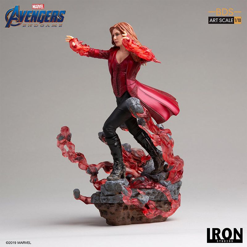 Iron Studios - Scarlet Witch - BDS Art Scale - Avengers:Endgame